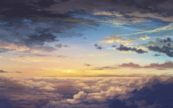 clouds_sky_art_sunset_elevation_landscape_86905_1920x1200
