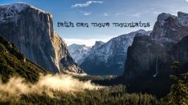 Tunnel View, Yosemite National Park, California. Winter 2013.