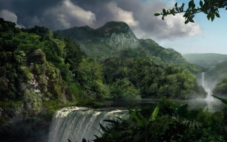 falls_jungle_wood_force_elements_42494_1920x1200