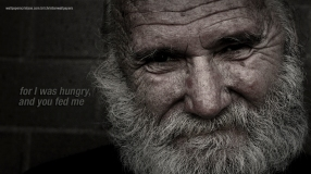 For-I-was-hungry-and-you-fed-me-christian-wallpaper-hd_1366x768