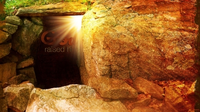 God-raised-him-grave-christian-wallpaper-hd_1366x768
