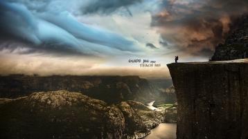guide-me-teach-me-man-mountains-christian-wallpaper-hd_1366x768