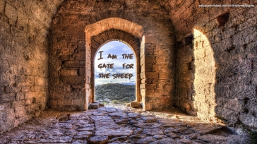 I-am-the-gate-for-the-sheep-christian-wallpaper-hd_1366x768