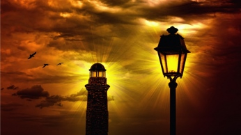 lighthouse_lantern_sky_storm_night_96942_1366x768