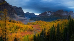 mountains_nature_sky_trees_view_landscape_95658_1366x768
