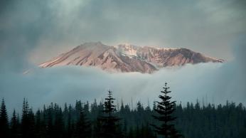 mountains_sky_trees_fog_99763_1366x768