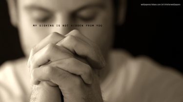 my-sighing-is-not-hidden-from-you-christian-wallpaper-hd_1366x768