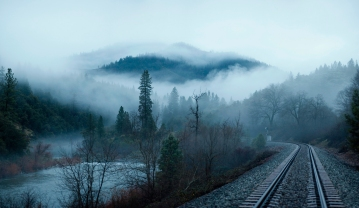 railroad_fog_trees_lake_mountain_99634_2100x1218