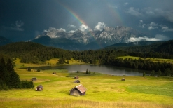 rainbow_lodges_glade_valley_sky_gloomy_cloudy_mountains_landscape_serenity_62948_1920x1200