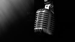 sing-to-him-microphone-christian-wallpaper-hd_1366x768