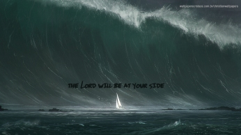 the-Lord-will-be-at-your-side-christian-wallpaper-hd_1366x768