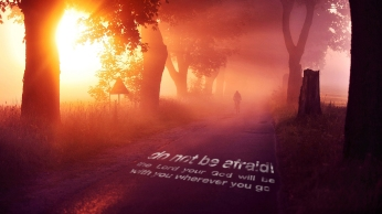 the-Lord-your-God-will-be-with-you-wherever-you-go-christian-wallpaper-hd_1366x768
