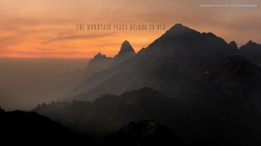 the-mountain-peaks-belong-to-him-christian-wallpaper-hd_1366x768