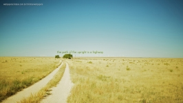 the-path-of-the-upright-is-a-highway-christian-wallpaper-hd_1366x768