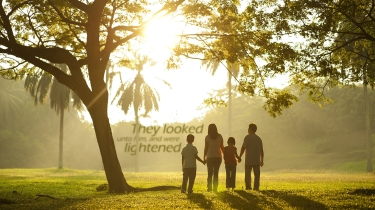 They-looked-unto-him-were-lightened-christian-wallpaper-hd_1366x768