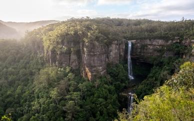 waterfall_trees_mountains_sky_grass_summer_87320_2560x1600