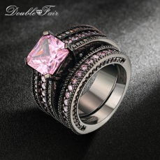 Black-Gold-Color-Pink-Square-Crystal-Luxury-Ring-Set-Fashion-Cocktail-Party-Rings-Cubic-Zirconia-Jewelry.jpg_640x640
