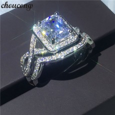 choucong-Princess-cut-3ct-5A-zircon-Crystal-ring-White-gold-filled-Engagement-Wedding-Band-Rings-set.jpg_640x640
