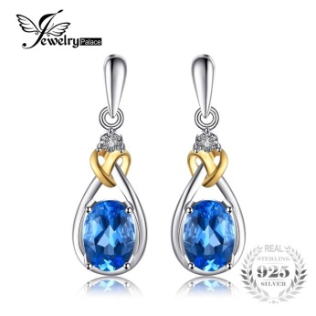 JewelryPalace-Love-Knot-1-9ct-Natural-Blue-Topaz-925-Sterling-Silver-18K-Gold-Dangle-Earrings-Fine.jpg_640x640