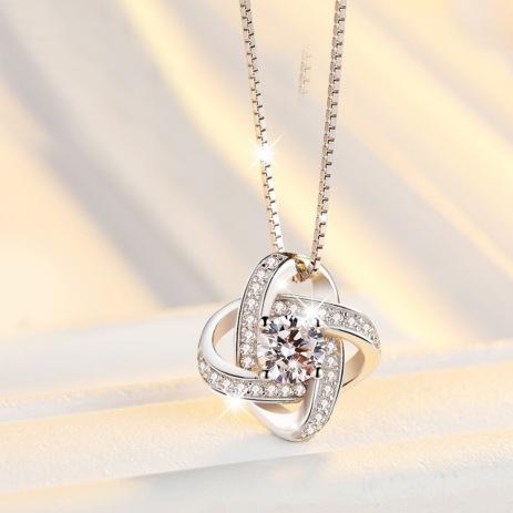 Neue-Ankunft-925-Sterling-Silber-Kristall-Clover-Halsketten-Anh-nger-Hei-en-Verkauf-Reinem-Silber-Kreuz.jpg_640x640