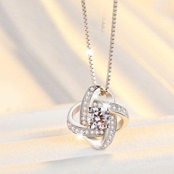 New-Arrival-925-Sterling-Silver-Crystal-Clover-Necklaces-Pendant-Hot-Sale-Pure-Silver-Cross-Jewelry-for.jpg_640x640