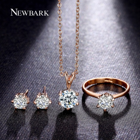 NEWBARK-Forever-Love-Jewelry-Sets-Classic-6-Prongs-Earrings-For-Women-Sparkling-Necklace-Round-Ring-Wedding.jpg_640x640