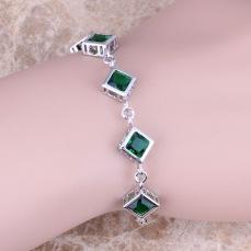 Romantic-Green-Cubic-Zirconia-925-Sterling-Silver-Link-Chain-Bracelet-6-5-7-5-inch-S0836.jpg_640x640