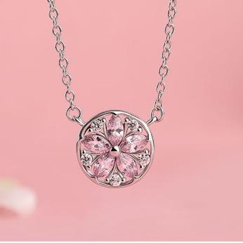 Silver-Sakura-Flower-Necklaces-Pendants-Cherry-Blossoms-With-Zircon-Chain-Choker-Necklace-925-Jewelry.jpg_640x640