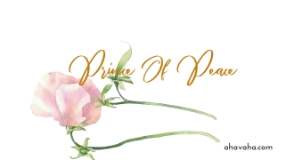 Prince-Of-Peace-Light-Pink-White-Green-Gold-Floral-Flower-Christian-Desktop-Computer-Wallpaper-and-Screensaver