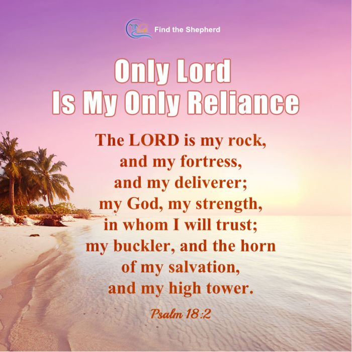 Only Lord Is My Only Reliance