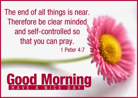 Controlled so that you can pray Good Morning Bible Verse Pictures
