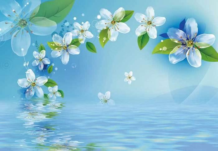 Grande-linda-flor-mural-papel-de-parede-sala-TV-quarto-fundo-do-papel-de-parede-papel