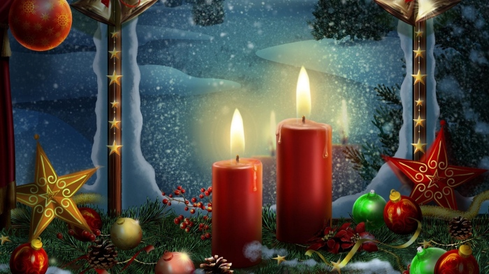 new_year_holiday_candles_postcards_toys_stars_christmas_36353_1366x768