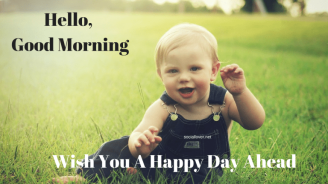 Hello-Good-Morning